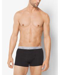 Michael Kors - White 4-pack Cotton-modal Trunk for Men - Lyst