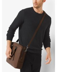 Michael Kors - Multicolor Bryant Large Leather Briefcase for Men - Lyst