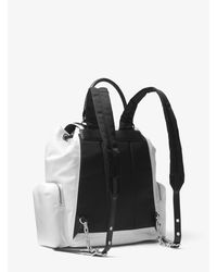 Michael Kors Multicolor Mk Beacon Medium Nylon Backpack