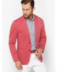 Michael Kors Multicolor Cotton-twill Blazer for men
