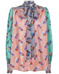 Blusa di MSGM in Multicolor