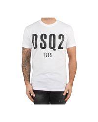 DSquared² T-shirt in het White voor heren