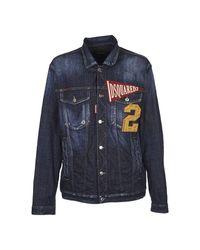 DSquared² Denim Jacket in het Blue voor heren