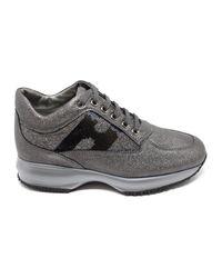 Hogan Interactive Sneakers in het Gray