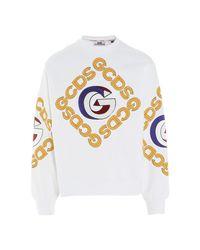 Gcds Sweater in het White voor heren