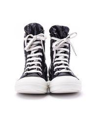 Rick Owens Sneakers in het Black