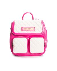 """Love Moschino Plecak """"quilted Nappa"""" in het Pink"""