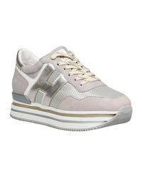 Sneakers Gris Hogan de color Gray
