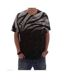 Versace Jeans T-shirt in het Black voor heren
