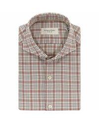 Shirt Tintoria Mattei 954 pour homme en coloris Natural