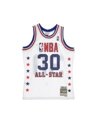 Mitchell & Ness Nba Basketball Jersey No 30 Patrick Ewing 1988 in het White voor heren