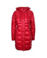 Woman 021Bd35008 red down jacket GAUDI en coloris Pink