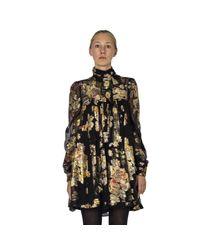 Saint Laurent Dress in het Black