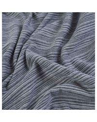 Niels Textured Stripe LS di Norse Projects in Gray da Uomo