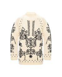 Etro Sweater in het Natural voor heren