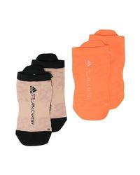 Adidas By Stella McCartney Socks 2-pack in het Orange