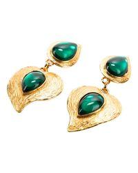 Very Rare Original earrings Silvian Heach en coloris Yellow