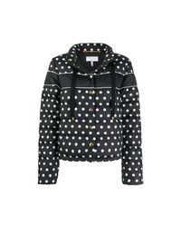 ESCADA Printed Down Jacket in het Black