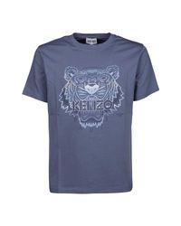KENZO T-shirt Mm Giro in het Blue voor heren