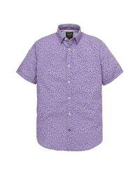 PME LEGEND Shirt Psis193210 in het Purple voor heren