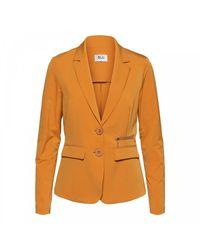 &Co Woman Phileine Zipp Blazer in het Orange