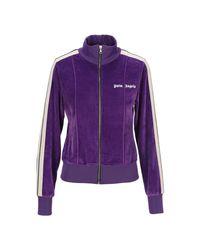 Palm Angels Knitwear Pwbd022f20fab002 in het Purple