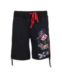 Paul & Shark Shorts in het Black voor heren