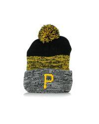 47 Brand Berretto Lana Static Cuff Knit Pitpir in het Yellow voor heren