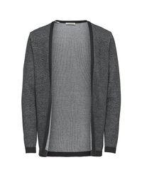 SELECTED Vest Open in het Gray voor heren