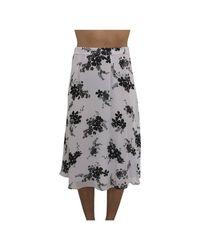 Michael Kors Skirt With Print in het White