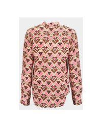 Camicia Rosa Dolce & Gabbana de color Pink