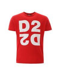 DSquared² Logo in het Red voor heren