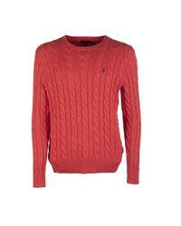 Sweater di Ninalilou in Red da Uomo