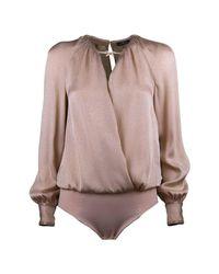 Elisabetta Franchi Natural Body shirt