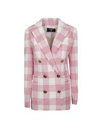 Balmain Jas in het Pink
