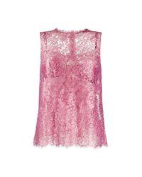 Dolce & Gabbana Top in het Pink