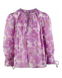 Antik Batik Loretta Shirt in het Pink