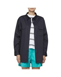 Chemise oversize di United Nude in Blue