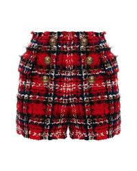 Balmain Shorts in het Red