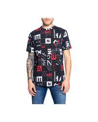 Just Cavalli T-shirt in het Black voor heren