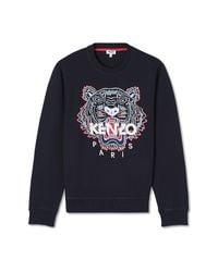 KENZO Tiger Sweatshirt in het Black voor heren