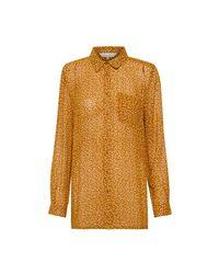 Part Two Shirt 30304831 Dot Print in het Orange