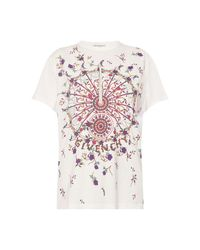 Givenchy T-shirt With Logo in het White