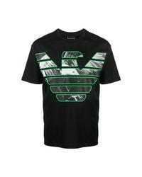 Emporio Armani T-shirts And Polos T-shirt in het Black voor heren