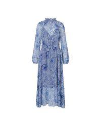 Levi's Dress Antoinette Tiger Shell in het Blue