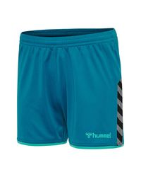 Hummel Authentic Poly Shorts in het Blue