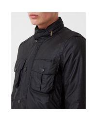 Corbridge Wax Jacket Negro Barbour de hombre de color Black