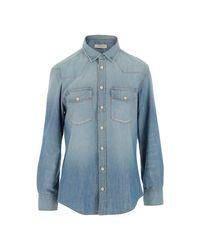Golden Goose Deluxe Brand Shirt in het Blue