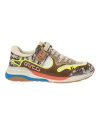 Gucci Ultrapace Sneakers in het Brown