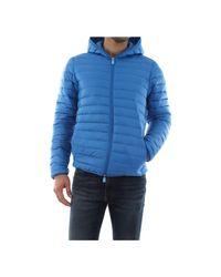 Save The Duck D3742m Nety8 Jacket And Jackets Men Bluette voor heren
